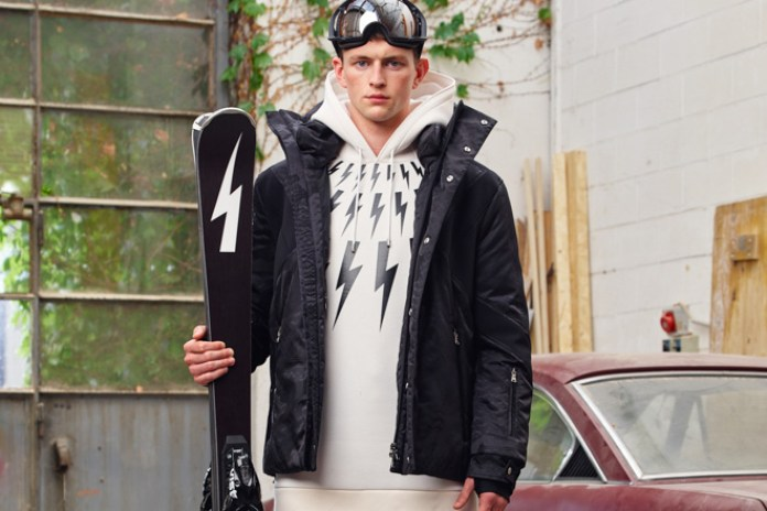Neil Barrett Introduces His Own Collection for the Slopes