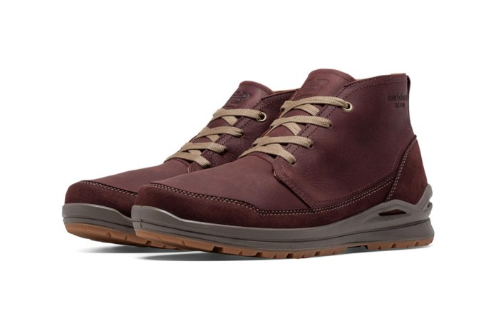 The New Balance 3020 Boot Blends Chukka Style and Outdoor Performance