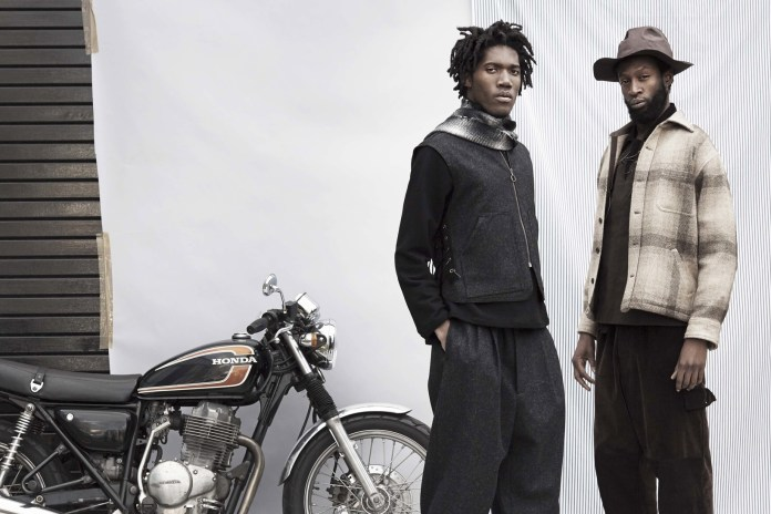 """Nicholas Daley's """"KinDread"""" Collection Shows You What Multiracial Biker Wear Looks Like"""