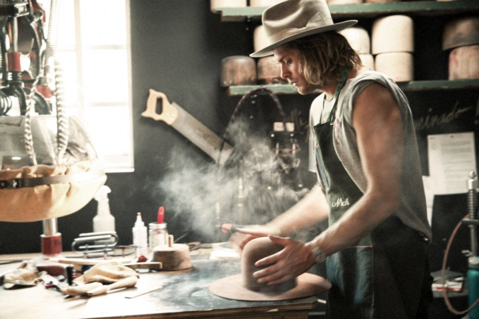 Watch Nick Fouquet's Flame-Treated Hatmaking Masterclass