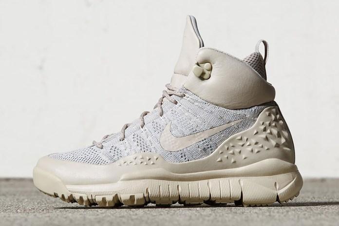 Nike Releases the Water Resistant Flyknit Lupinek in Tan