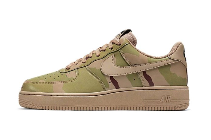 "A Detailed Look at the Nike Air Force 1 Low ""Reflective Desert Camo"""
