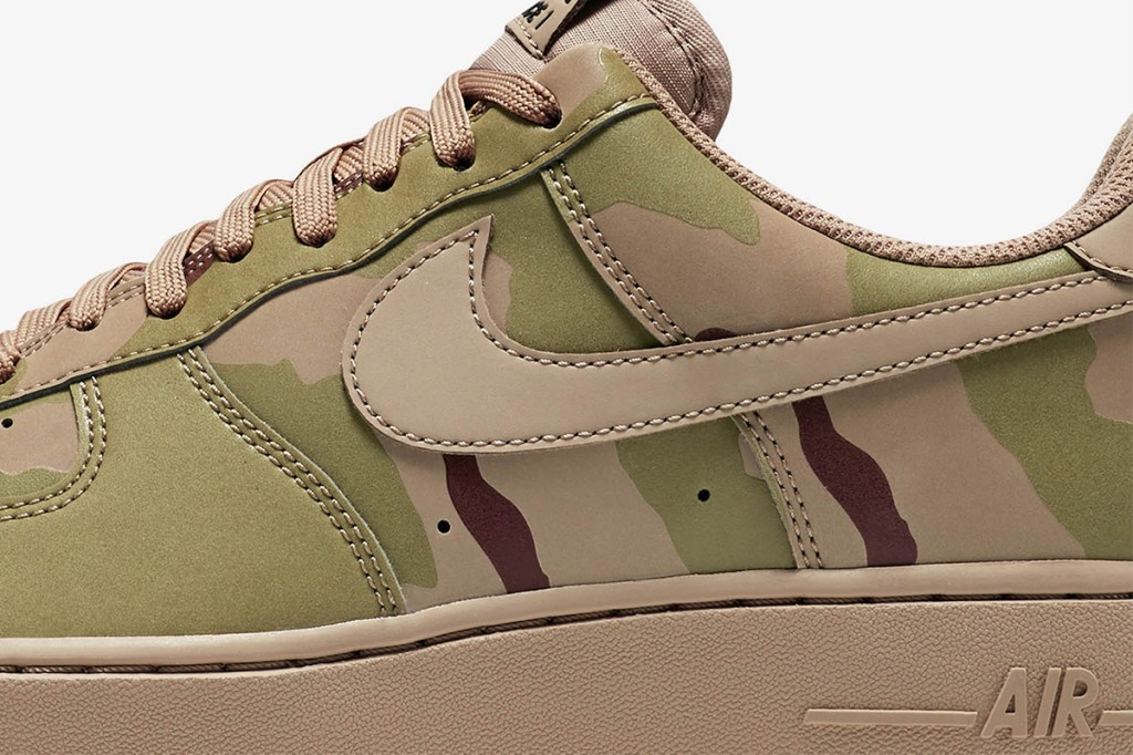 Nike Air Force 1 Low Reflective Desert Camo Hypebeast