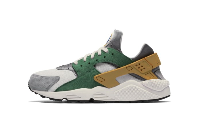 Nike Brings Green, Gold & Florals to the Air Huarache SE