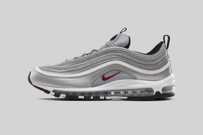 "The Nike Air Max 97 ""Silver"" Italy Exclusive Is Set to Release"