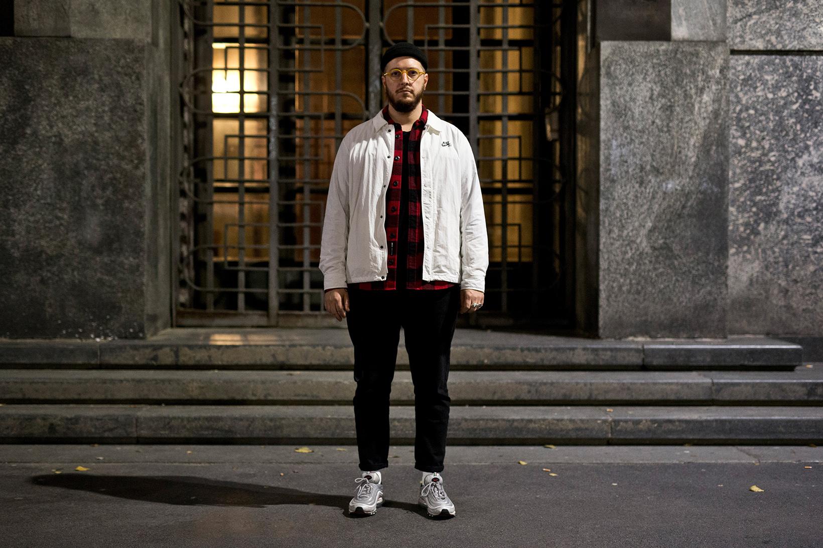 Nike Air Max 97 Street Style Milan Hypebeast