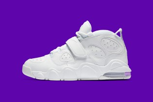 "Nike Drops a ""Triple White"" Version of Charles Barkley's Air Max CB34"