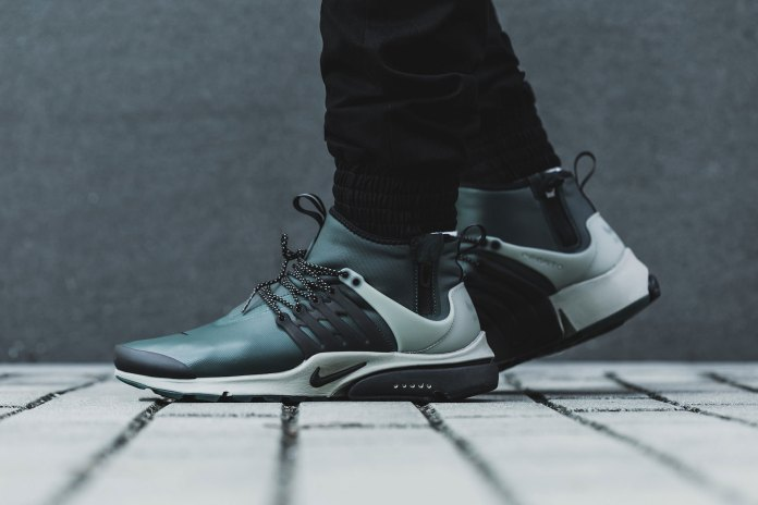 Get a Closer Look at the Nike Air Presto Mid Utility's Weatherized Construction