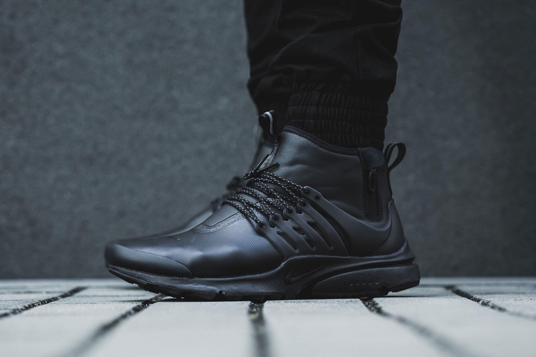 Nike Presto Utility Mid Black