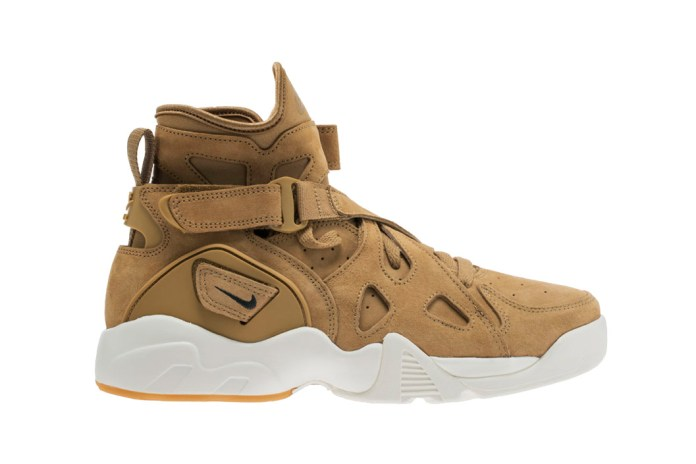 "Nike's Air Unlimited Model Next to Don ""Wheat"" Colorway"