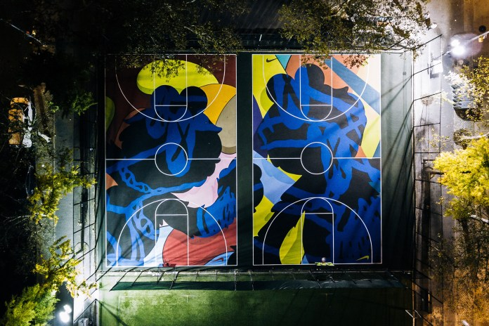 Nike Enlists KAWS to Redesign New York City's Stanton Street Courts