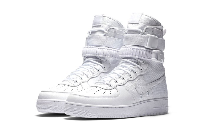 "Nike's Coveted SF Air Force 1 ""Triple White"" Will Be Re-Releasing in Asia as an Exclusive"