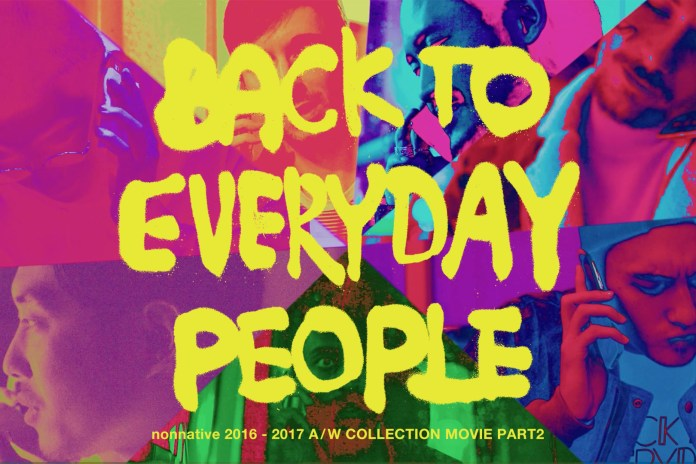 "nonnative Releases Part Two of Its ""Back to Everyday People"" Short Film Series"