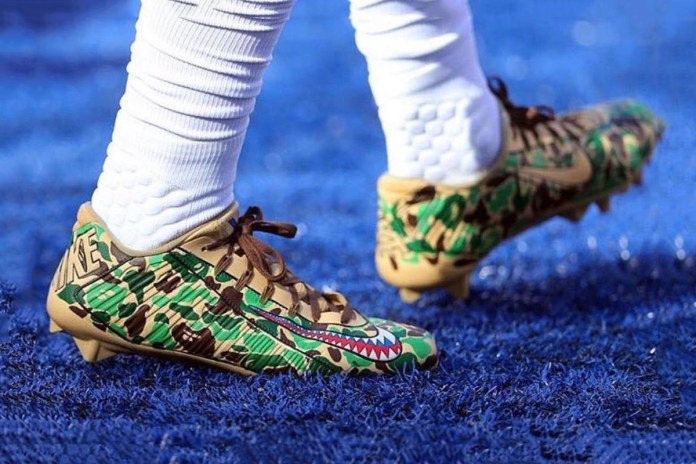 OBJ Sported BAPE Cleats to Honor Veterans