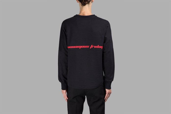 Kanye West and Raf Simons Have Already Co-Signed the Next Big Fashion Font
