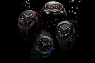 "OMEGA Unveils the Full Range of Seamaster Planet Ocean's ""Deep Black"" Collection"