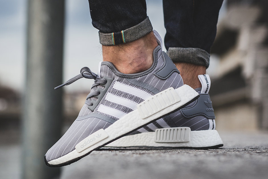 Adidas Men 's NMD XR 1' Glitch White 'On Foot Crave Closet Division