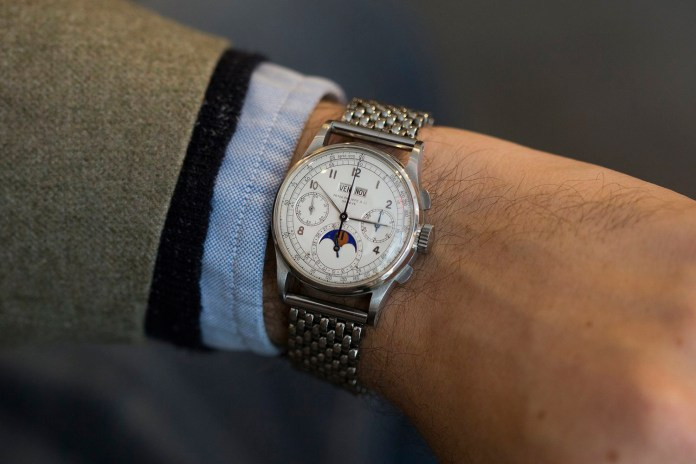 Patek Philippe Ref. 1518 Sets World Record as Most Expensive Watch at $11 Million
