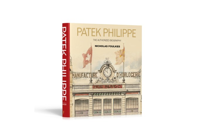 Patek Philippe Releases an 'Authorized Biography' for True Fans of the Brand