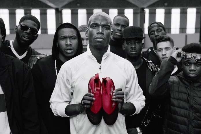 "Paul Pogba Teases adidas Football's ""Red Limit"" Collection in a Slick New Video"