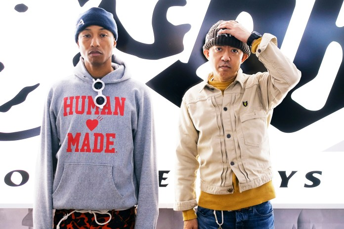 Pharrell Opens a New Billionaire Boys Club/ICECREAM Flagship Location in New York