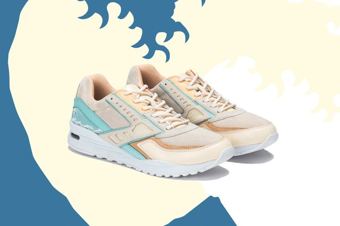 Pink Dolphin and Brooks Come Together for a Japanese Art-Inspired Collab