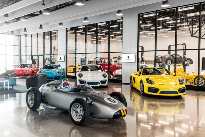 You Can Now Drive Porsche's Cars Around a Circuit in Its New Experience Center