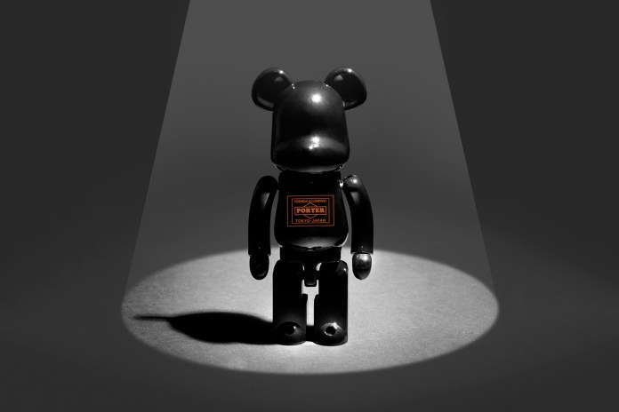 Porter & Medicom Toy Unveil a Tanker-Inspired Super-Alloy Bearbrick