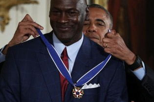 """""""Crying Jordan"""" Meme Comes to Life at Medal of Freedom Ceremony"""