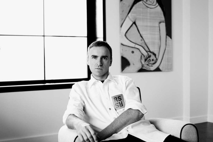 Raf Simons's Debut Calvin Klein Show Will Have Both Menswear and Womenswear