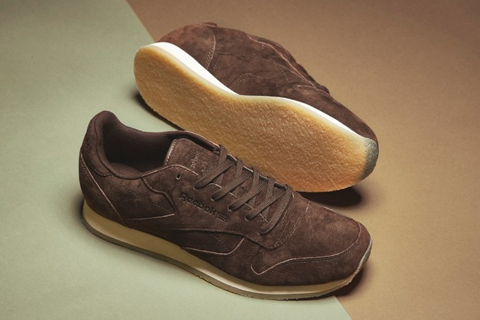 Reebok Adds a Crepe Sole to the Classic Leather