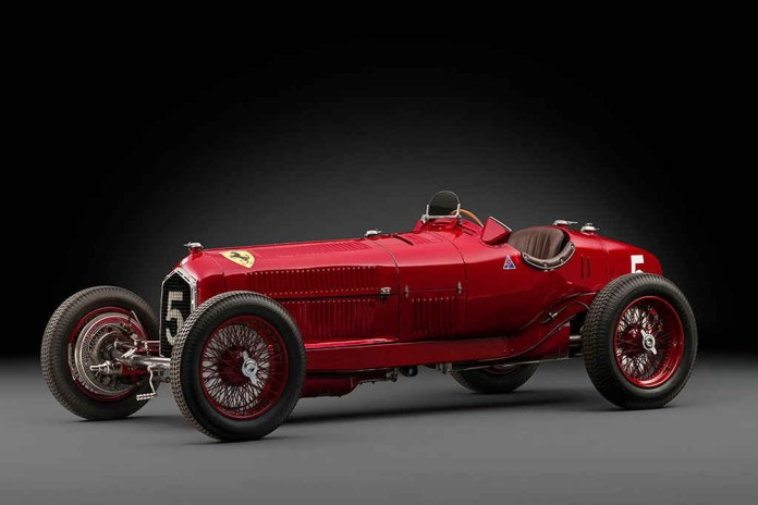 RM Sotheby's Is Gearing up to Host This Alfa Romeo Tipo B P3