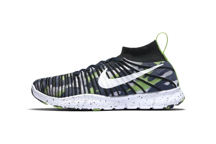 Russell Wilson Teams up With Nike on His Very Own Free Train Force Flyknits