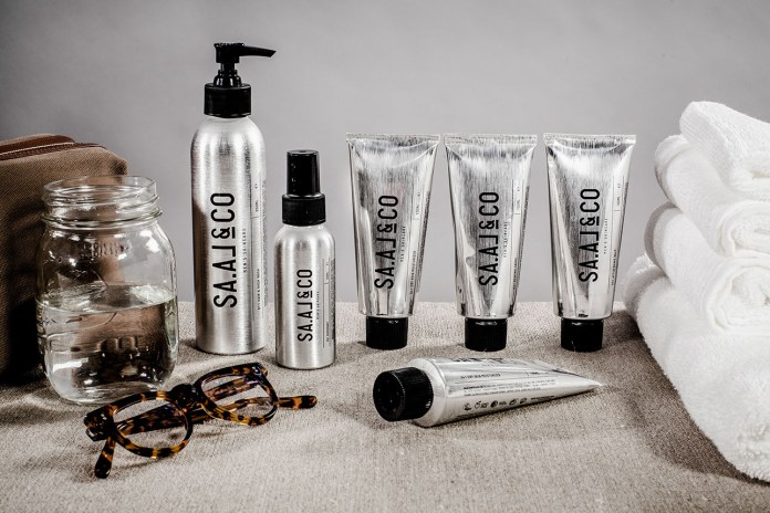 SA.AL&CO's New Men's Grooming Set Is Inspired by Plane Fuselages