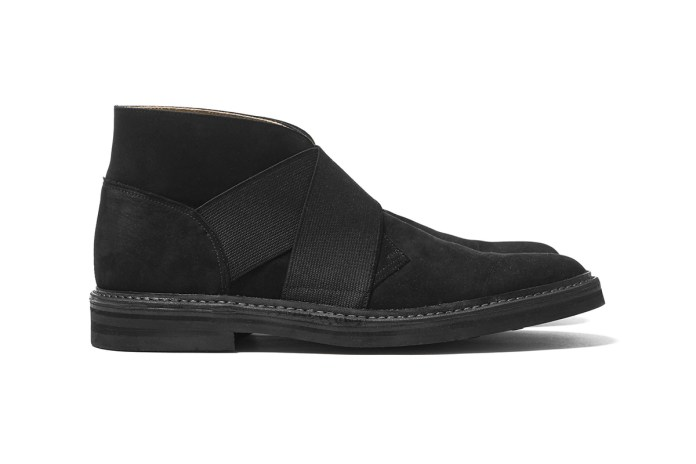 Sasquatchfabrix. Gives the Classic Desert Boot a Slip-On Spin