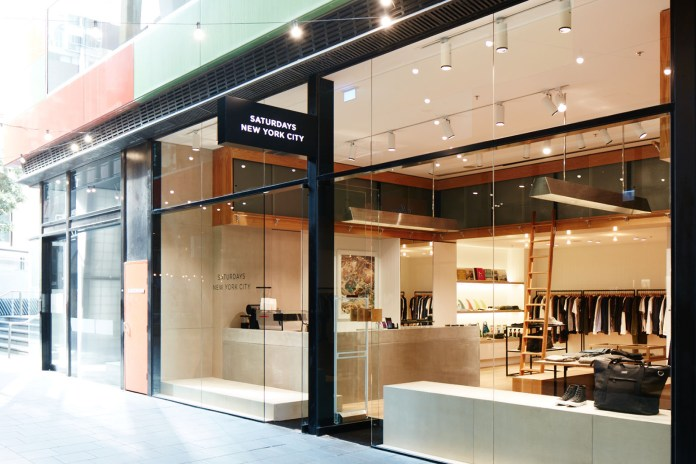 A Look Inside Saturdays NYC's New Melbourne Store