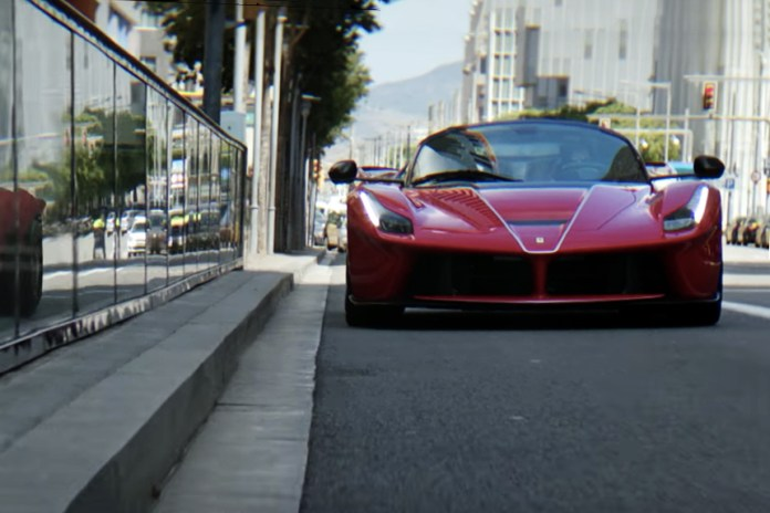 F1 Driver Sebastian Vettel Shows How to Drive the LaFerrari Aperta