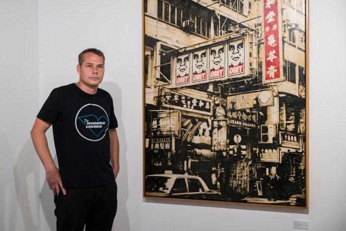 "Shepard Fairey's ""Visual Disobedience"" Solo Show Questions Propaganda"