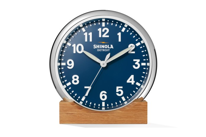 General Electric x Shinola Collection Dresses up Your Home Accessories