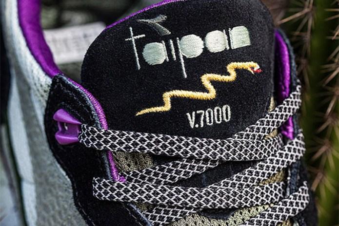 """Sneaker Freaker Previews Its Diadora V7000 """"Taipan"""""""