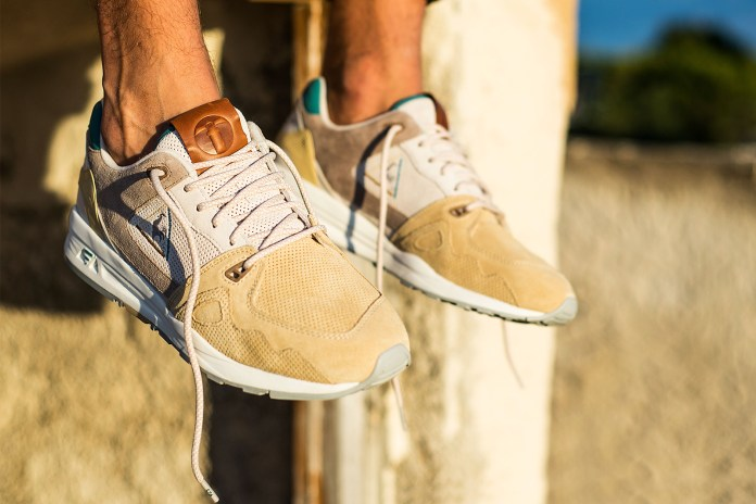 Sneakers76 Collabs With Le Coq Sportif on a Sneaker Channelling the History of Southern Italy
