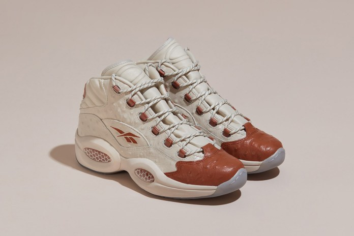Sneakersnstuff Puts a Luxurious Spin on Allen Iverson's Reebok Question