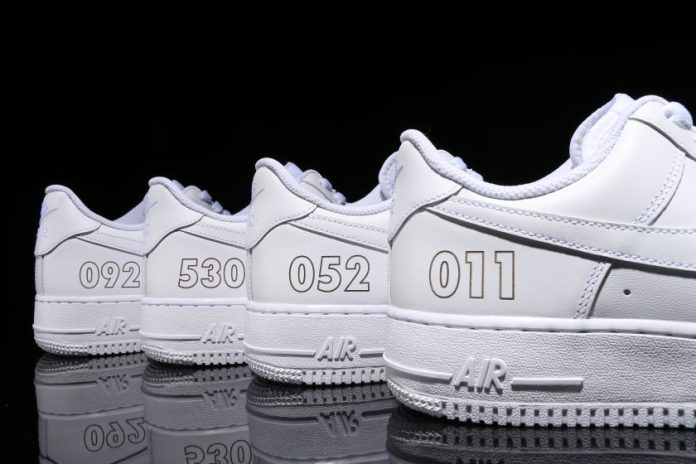 Sports Lab by atmos Will Laser-Engrave Your Air Force 1s