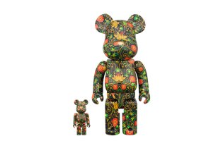 SSUR Releases Floral-Themed Bearbricks