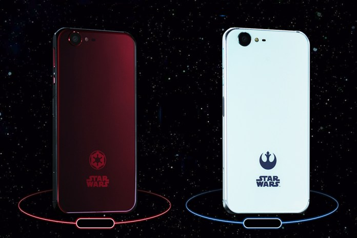 Japan Releases Two Exclusive Star Wars Phones That Rival Both Apple and Samsung