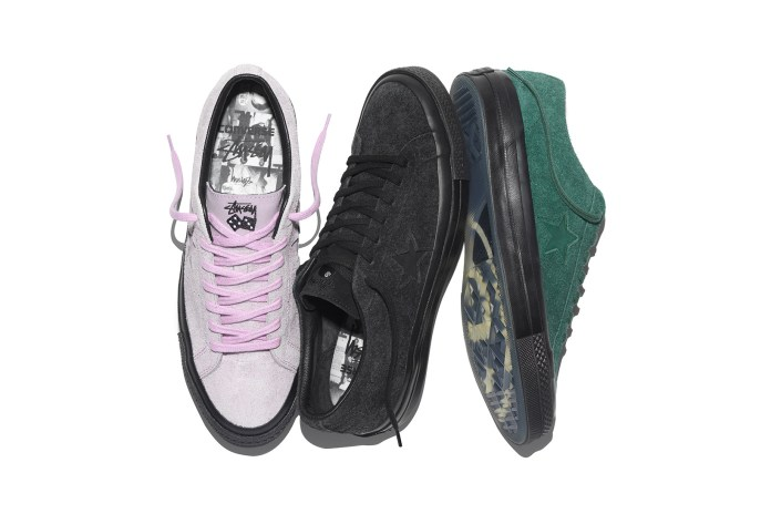 Stüssy Teams up With Converse to Dress up the One Star '74 Silhouette