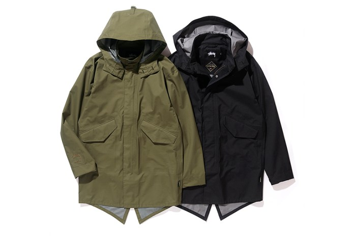 Stüssy & GORE-TEX Join Forces for a Pair of Fishtail Parkas