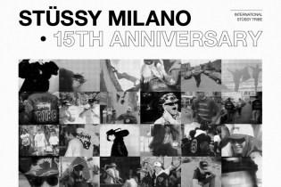 A Recap of Stüssy Milano's 15th Anniversary Party