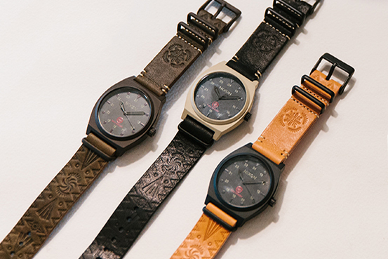 Nixon Enlists Designer Taka Hayashi for an Exclusive Watch Collection