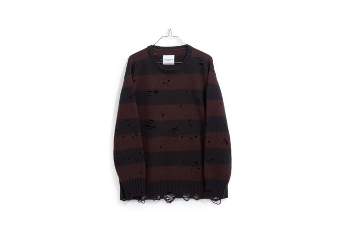 """TAKAHIROMIYASHITATheSoloist. Releases Distressed Sweaters and Jewelry for Its """"YOUTH"""" Capsule"""